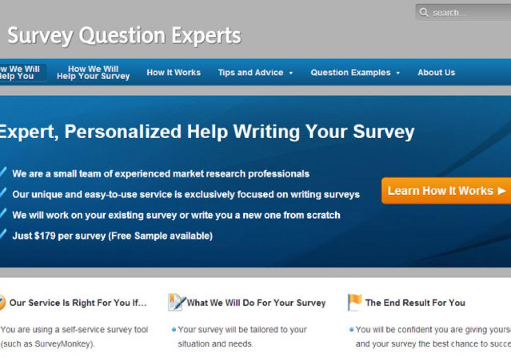 Survey Question Experts